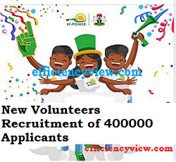 Npower new Volunteers Recruitment of 400000 Applicants in 2020/2021