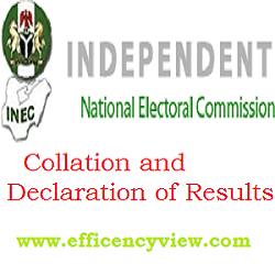 Photo of Election Collation and Declaration of Results in Nigeria General Elections