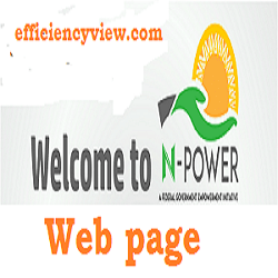 Photo of NPVN web page: Npower Volunteer Profile login portal – create account npvn.npower.gov.ng/login