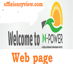 Photo of NPVN web page: Npower Volunteer Profile login portal – create account npvn.npower.gov.ng/login