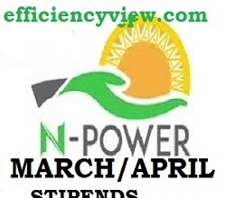 Photo of Npower Support Team apologized for 2020 March/April Stipends delay gives update on payment date