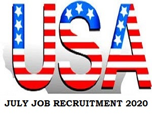 Jobs Recruitment in United State of America July 2020