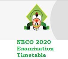 Photo of NECO 2020 Examination Timetable pdf: Neco exams/practical starts October 5 2020 and end November 18