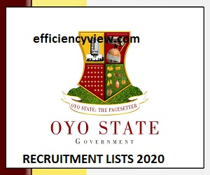 Oyo State Ministry of Education Recruitment Shortlisted Candidates 2020