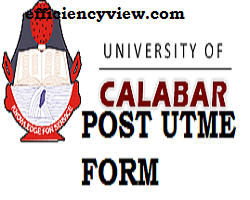 Unical Post UTME Screening Aptitude Test Registration Form is out