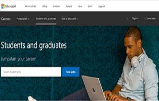 Microsoft Internship Program Application Registration Form Link Portal – check here