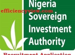 Photo of Nigeria Sovereign Investment Authority NSIA Recruitment 2020/2021
