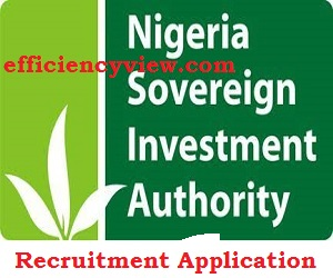 Nigeria Sovereign Investment Authority NSIA Recruitment 2020/2021