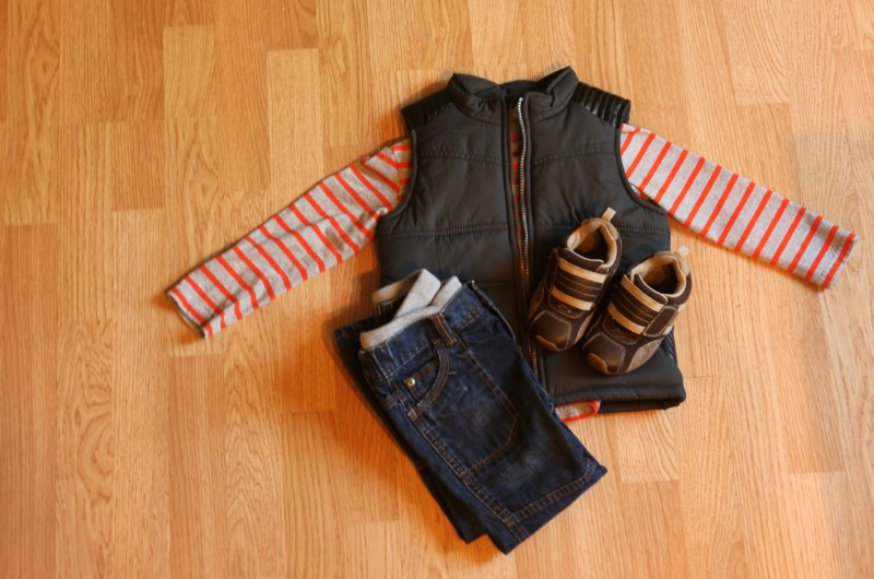 Kids Capsule Wardrobe Outfit Boy