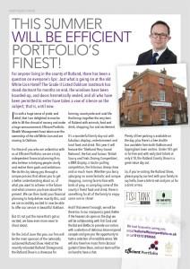 Rutland Living Efficient Portfolio Article June