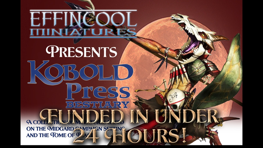 Kobold Press Bestiary – Tome of Beast Backers Start Unlocking Stretch Goals
