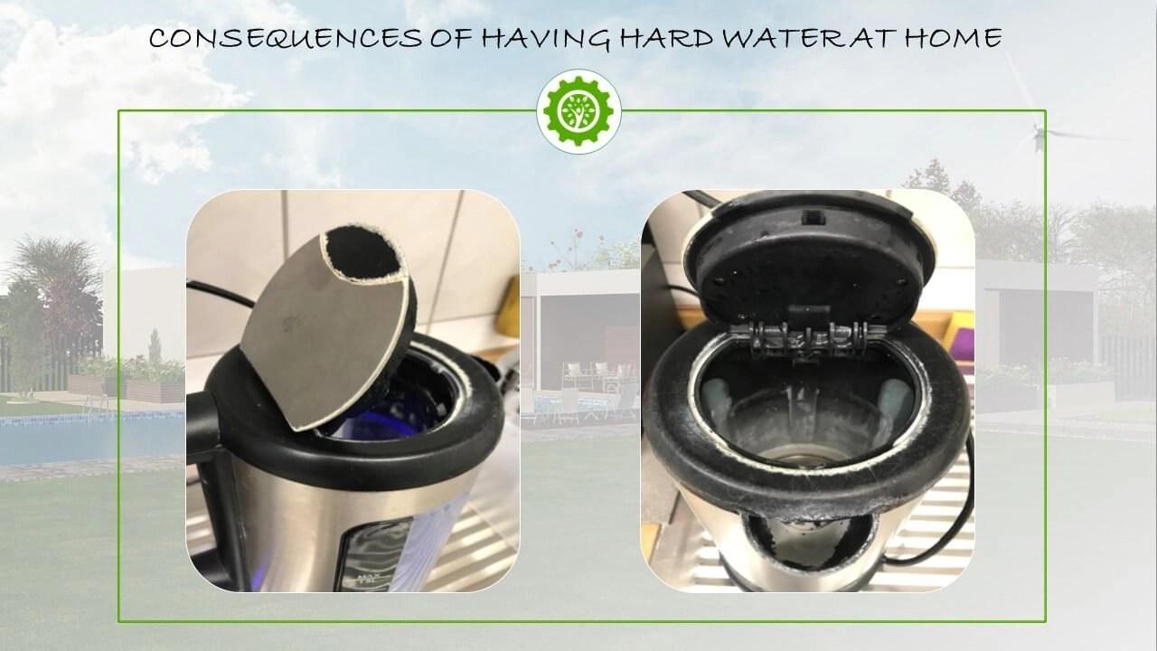 Hard water at home