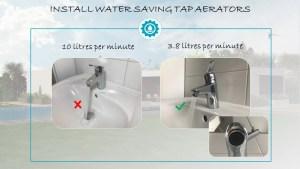 water saving tap aerator