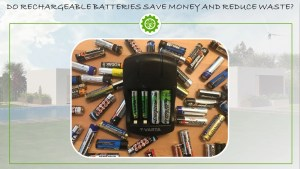 Rechargeable batteries front