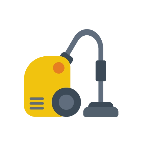 Vacuum cleaner electricity usage