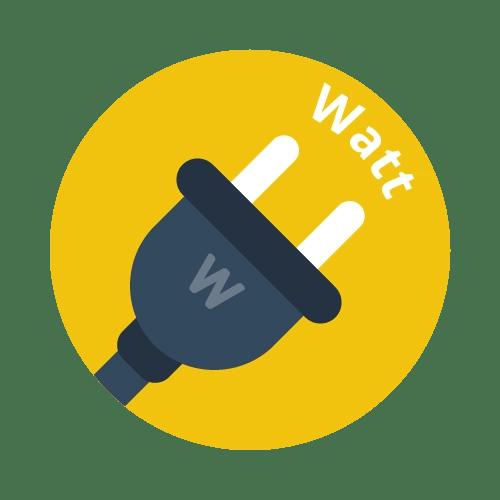 Watt (W)