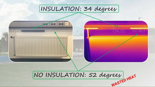 Insulate your home radiators