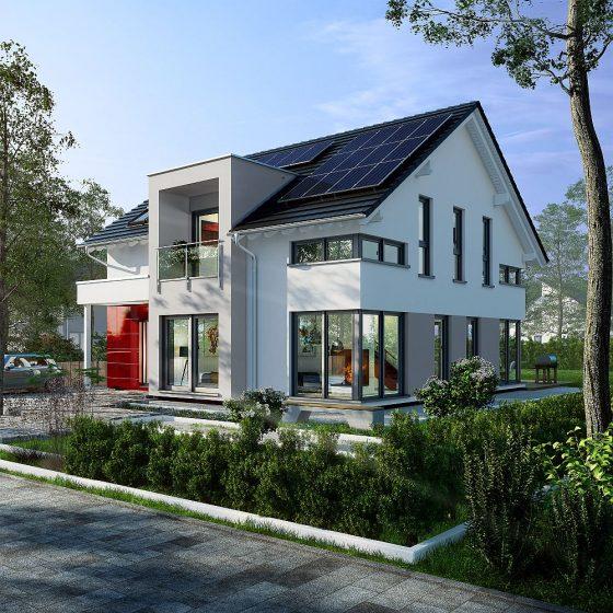 Das neue Musterhaus von OKAL in Fellbach.