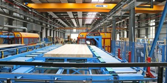 Mit der neuen Zimmerei im Werk Simmern können die Produktionskapazitäten dem Erfolg angepasst werden. (Foto: DFH)