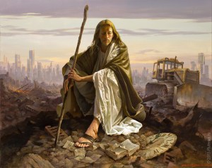 Christ in the desert de Stanislav Plutenko