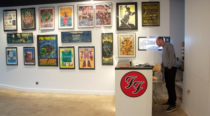 Sonic Art Ways : la tournée sérigraphiée des Foo Fighters