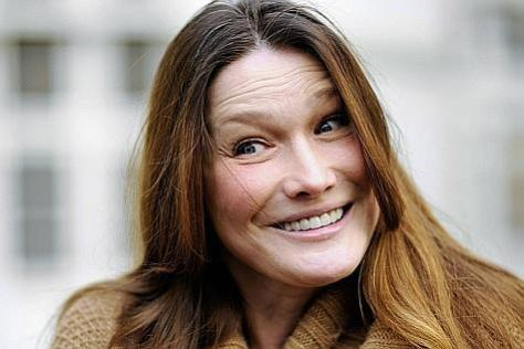 Carla Bruni et les Deputies.
