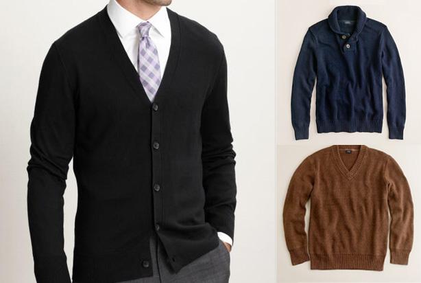 sweaters for summer - effortlessgent.com