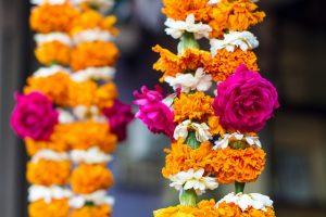 Indian flower garland