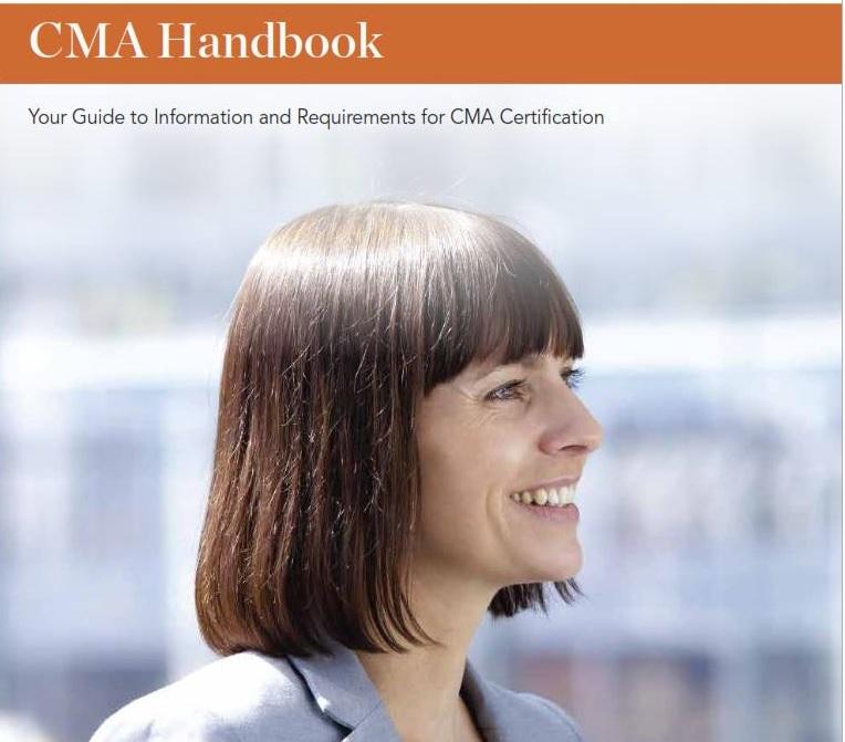 CMA Candidate Handbook