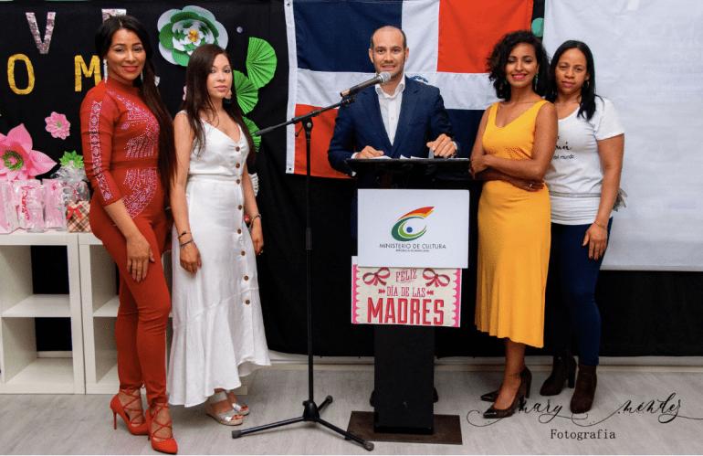 Celebración del Día de las Madres por el Ministerio de Cultura de la República Dominicana