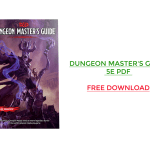 Dungeon Master's Guide 5e PDF Free Download