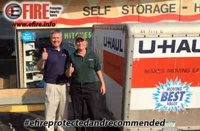 E Fire and Uhaul