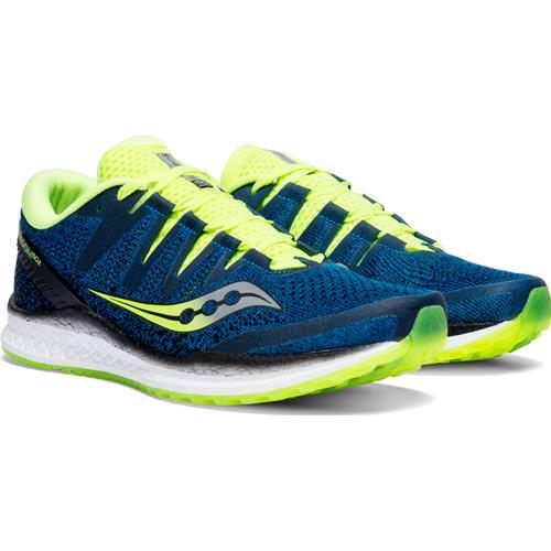 Saucony Freedom ISO 2 Men's Running Blue Citron S20440-3