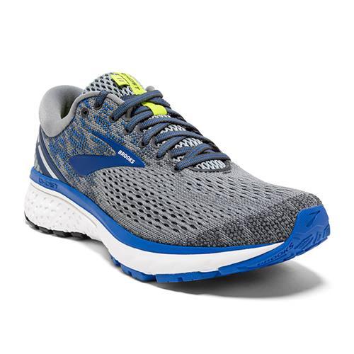 Brooks Ghost 11 Men's Running Grey Blue Silver 1102881D006
