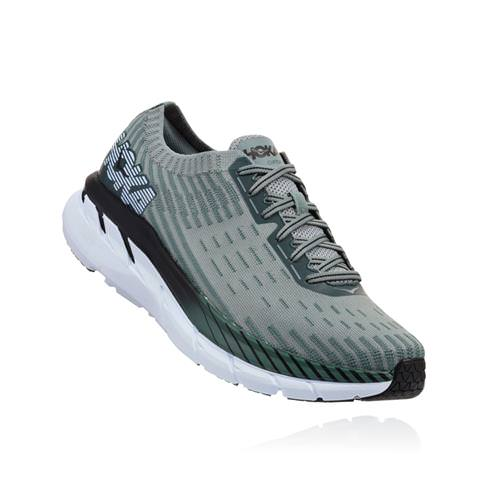 Hoka One One Clifton 5 Knit Men's Silver Pine Chinois Green 1094309 SPCGN