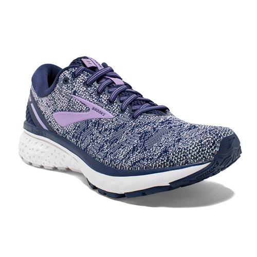 Brooks Ghost 11 Women's Running Navy Grey Purple Rose 1202771B406