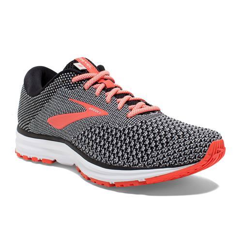 Brooks Revel 2 Women's Running Black Light Grey Coral 1202811B072