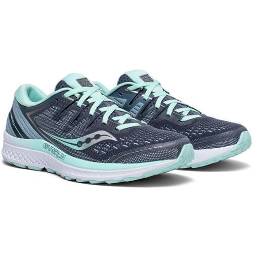 Saucony Guide ISO 2 Wide D Women's Running Slate Aqua S10465-1