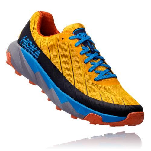 Hoka One One Torrent Men's Trail Gold Fusion Dresden Blue 1097751 GFDBL