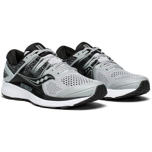 Saucony Omni ISO Men's Running Shoe Grey Black S20442-2