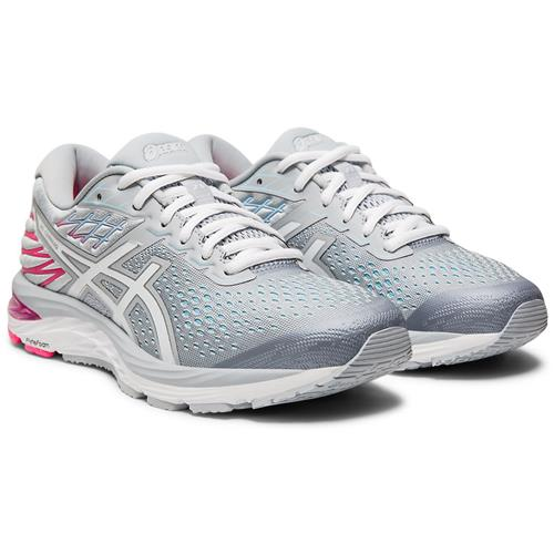 Asics GEL-Cumulus 21 Women's Running Piedmont Grey White 1012A468 020