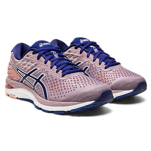 Asics GEL-Cumulus 21 Women's Running Violet Blush Diva Blue 1012A468 500