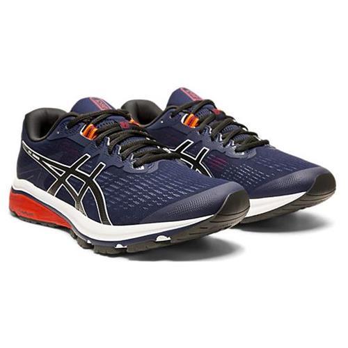 Asics GT-1000 8 Men's Running Shoe Wide EE Peacoat Black 1011A538 400