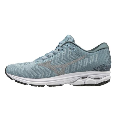 Mizuno Wave Rider 23 WAVEKNIT Women's Running Blue Fog-Vapor Blue 411122.BFVB