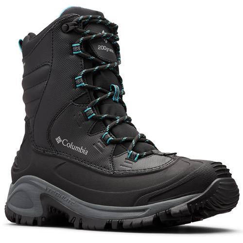 Columbia Bugaboot III Waterproof Womens Winter Boot Black Pacific Rim 1791281 010