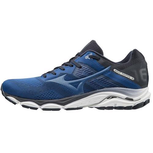 Mizuno Wave Inspire 16 Men's Running Shoes Wide EE True Blue 411161.TBTB