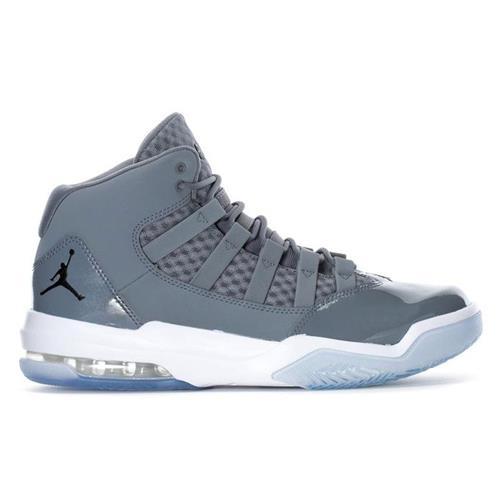 Jordan Max Aura Basketball Cool Grey Black White AQ9084-010