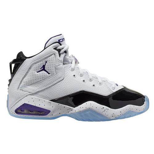 Jordan B'Loyal Basketball White Court Purple Black 315317-115
