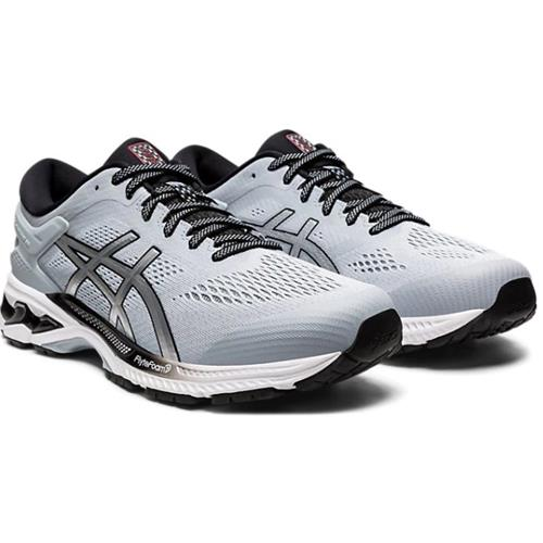 Asics Gel Kayano 26 Men's Running Shoe Piedmont Grey/Pure Silver 1011A541 022