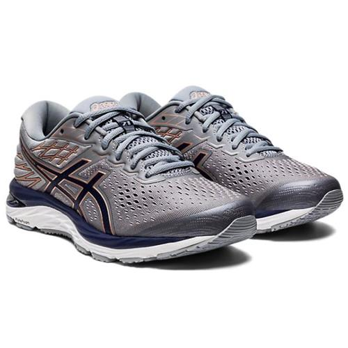 Asics GEL-Cumulus 21 Women's Running Wide D Sheetrock Peacoat 1012A469 021